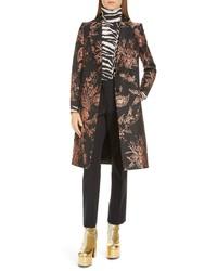 Dries Van Noten Floral Jacquard Coat