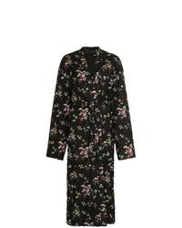 Haider Ackermann Floral Maxi Coat