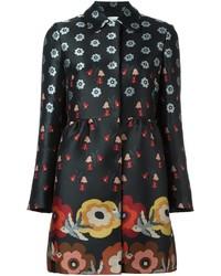 RED Valentino Floral Jacquard Coat