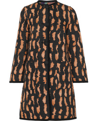 Etro Reversible Cotton Blend Jacquard Coat