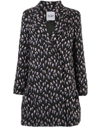 Si Jay Floral Button Up Coat