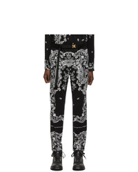 Sacai Black Floral Trousers