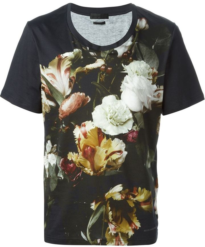printed t-shirt Alexander McQueen Sale Websites Where Can You Find Discount 2018 New Outlet Best Place Cheap Discount Authentic rmphr