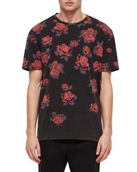 AllSaints Thorn Short Sleeve Crewneck T Shirt