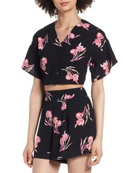 Leith Floral Crop Top