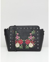 Park Lane Embroidered Floral Across Body Bag Floral