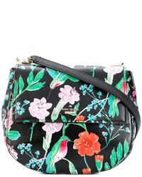 Kate Spade Floral Saddle Bag
