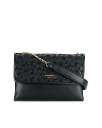 Lanvin Sugar Floral Embroidered Shoulder Bag