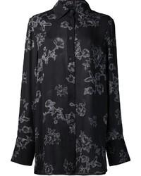 Floral print shirt medium 3649088