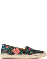 Gucci Floral Embroidered Espadrilles