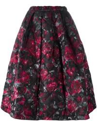 Comme des garons floral print full skirt medium 4267776