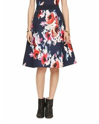 Kate Spade Hazy Floral Midi Skirt
