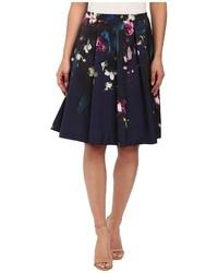 Ted Baker Quirina Fuchsia Floral Full Skirt