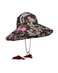 Gucci Tasseled Floral Jacquard Hat