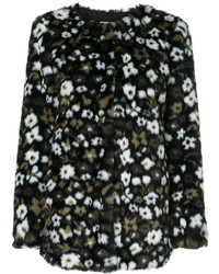 MICHAEL Michael Kors Michl Michl Kors Floral Faux Fur Jacquard Jacket