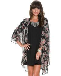 Swell Arranget Floral Kimono