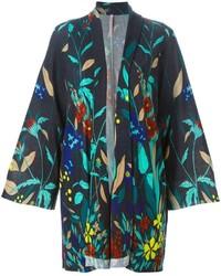 Antonio Marras Floral Print Knitted Kimono