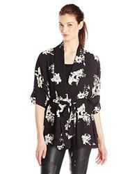 BB Dakota Gazella Lily Printed Kimono