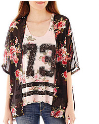 jcpenney California Gypsy Kimono With Reversible Tank Top