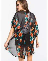 Full Tilt Lace Back Kimono