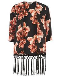 Dorothy Perkins Petite Floral Tassel Kimono