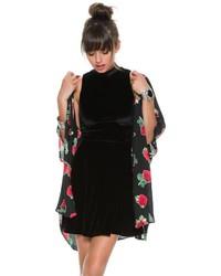 Swell Pixie Woven Floral Kimono