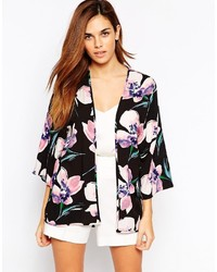 Warehouse Floral Kimono Jacket
