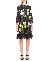 Dolce & Gabbana Daffodil Print Cady Dress