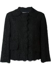 Black Floral Lace Jacket