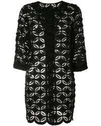 D-Exterior Dexterior Floral Lace Oversized Jacket