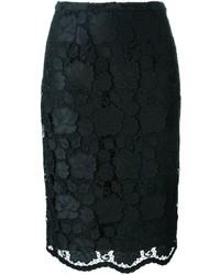 No.21 No21 Floral Lace Pencil Skirt