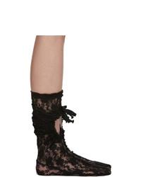 Comme des Garcons Black Lace Socks
