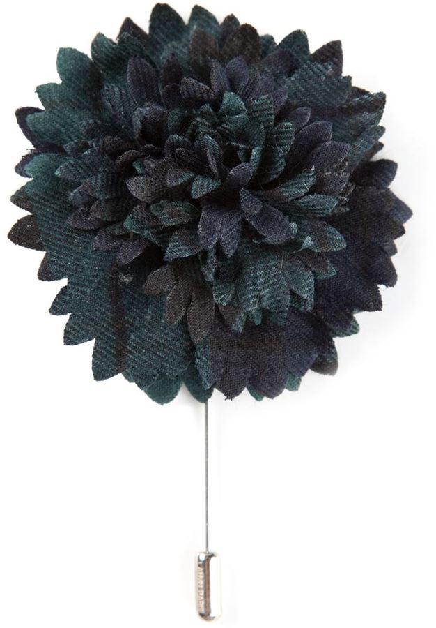 Lanvin flower pin - Black kasywWux