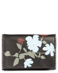 Fleur faux leather clutch black medium 4731172