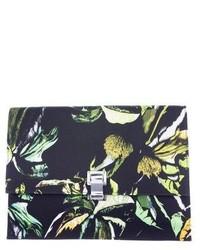 Proenza Schouler Floral Print Large Lunch Bag