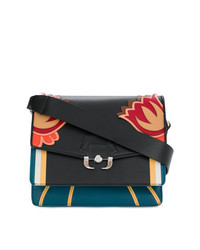 Paula Cademartori Floral Shoulder Bag