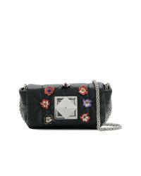 Sonia Rykiel Le Copain Floral Pin Shoulder Bag