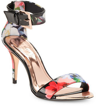 0ea21f3e8 ... Ted Baker London Blynne Floral Open Toe Sandals