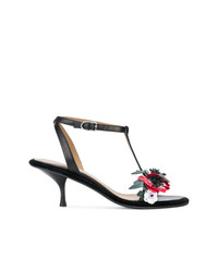 Sonia Rykiel Flower Detail Sandals
