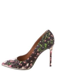 Givenchy Floral Pointed Toe Pumps