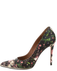 Givenchy Leather Floral Print Pumps