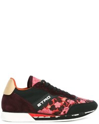 Etro Floral Embroidered Sneakers