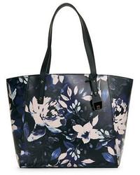 Ivanka Trump Floral Leather Tote