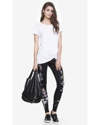 Express Placed Floral Scuba Legging