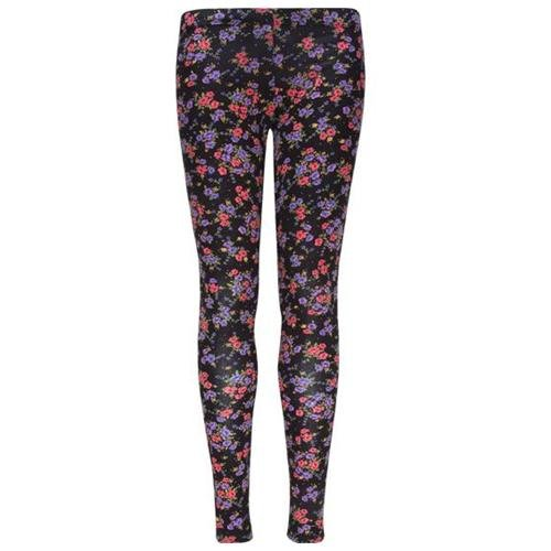 f4ccfc53607db1 Full Tilt Ditsy Floral Girls Leggings, $12 | buy.com | Lookastic.com