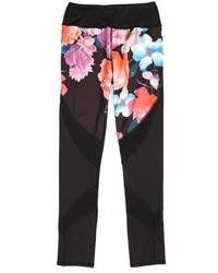 Girls Miss Behave Christina Floral Mesh Max Dri Leggings