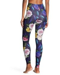49c531fd758ee Xhilaration Leggings Shiny Floral Tm, $12 | Target | Lookastic.com