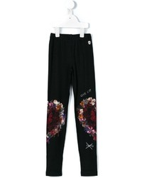Philipp Plein Kids On My Knees Leggings