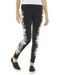 So Printed Leggings Juniors