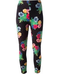 Vintage floral print leggings medium 100160